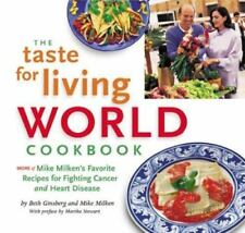 Taste Living World Cookbook NEW Vegetarian LOW FAT Healthy SOY Recipes NATURAL