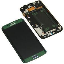 Original Samsung Galaxy s6 Edge g925f pantalla LCD táctil de vidrio marco Green