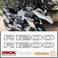 2x R1200 Grey BMW R 1200 GS 13-17 LC ADESIVI PEGATINA STICKERS AUTOCOLLANT