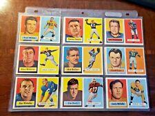 1957 Topps fútbol (Lote de 53 tarjetas) tarjetas están justo De Paquete!!!