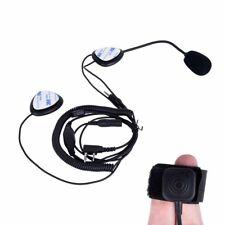 1PCS Helmet Motorcycle Race Headset Earphone MIC For KENWOOD Baofeng PUXING TYT
