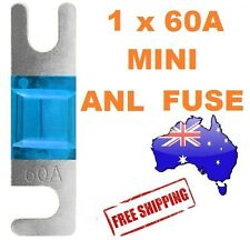 1 x 60AMP Mini ANL Fuse for Car Amplifier Wiring Kit Fuse Holders 60A - Midi AFC