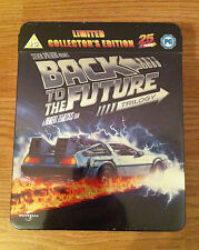 Back to the Future Trilogy Blu ray Collector's Tin - Limited Edition - V-Rare!