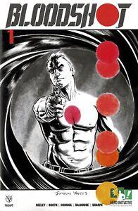 HERO INITIATIVE BLOODSHOT 50 PROJECT Original cover: JOLYON YATES CGC 9.8