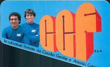 Adesivo GGF le calzature firmate da Claudio Gentile Antonio Cabrini anni 70