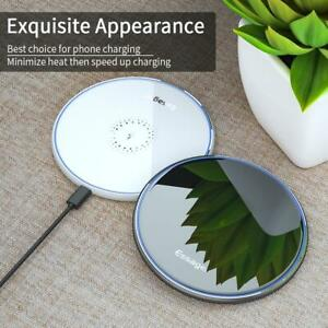 10W Qi New Wireless Phone Charger iPhone 11 Samsung Wireless Fast Charging Pad