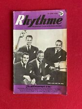 "1950, Nat King Cole, ""Rhythme"" Magazine (Scarce / Vintage)"