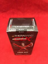 NEW THERABAND CLX Individual Pre-Cut 5' Resistance Band Consecutive Loops Black