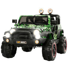 12V Kids Ride on Toys Car Remote Control Electric Power Wheel Jeep 3 Speeds
