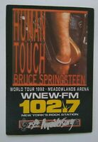 Bruce Springsteen Human Touch Backstage Pass Original 1992 Concert Tour NJ Arena