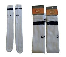 "OG 90's NIKE 26"" BASKETBALL TUBE SOCKS 3 PAIRS DS RETRO CREW OTC SKATER SB CALF"