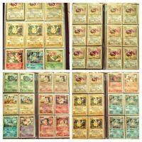 Pokemon Binder Collection - Vintage 1st Edition Pikachu Eevee Starters & More 🔥