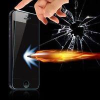 Film en Verre Trempé Protecteur d'écran Anti-Chocs Clair pour iPhone&Samsung