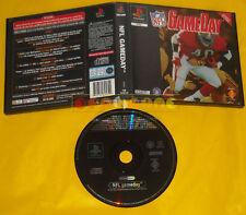NFL GAMEDAY Ps1 Versione Italiana edita per il Noleggio Game Day »»»»» Usato