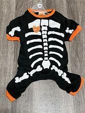 Pet Spirit Halloween Dog Skeleton Pajamas MEDIUM