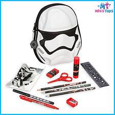 Disney Star Wars The Force Awakens Zip-Up Stationery Kit pencils eraser ruler