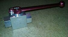 HYDAC VALVE KHB-16SAE-1114, 3663197, 6000 PSI, NEW, FREE SHIP A4
