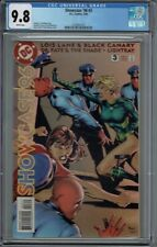 CGC 9.8 SHOWCASE '96 #3 1ST APPEARANCE OF THE BIRDS OF PREY BLACK CANARY ORACLE