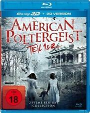 AMERICAN POLTERGEIST 1 & 2 3D blu ray ( includes 2D version ) ( NEW )