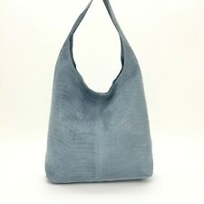 Italian Bag Women's Genuine Leather Full Croc Print Large Hobo Bag Shoulder Bags