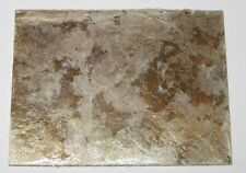 "Mica Sheet - 2.25"" x 1.77"" - Rigid with Multiple Separable Layers - 0.035"