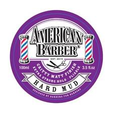 AMERICAN BARBER HARD MUD 100ML FREE SHIPPING