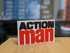 Decorative Self standing ACTION MAN logo
