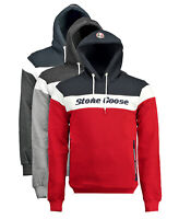 Felpa Stone Goose Farrau  maglia Uomo Men due tasche zip sweatshirt cappuccio ho