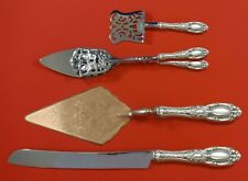 King Richard by Towle Sterling Silver Dessert Serving Set 4pc Custom Made