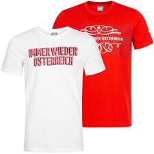 Österreich PUMA Herren Tee Fußball Team Shirt Sport Fan T-Shirt Austria neu