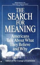 The Search for Meaning: Americans Talk About What They Believe and Why-ExLibrary