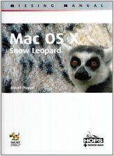 Mac OS X. Snow Leopard. Missing manual - [Tecniche Nuove]