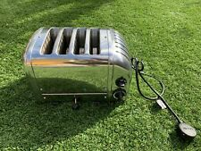 Dualit 4 slice toaster great condition silver only used a short time