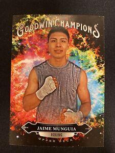 2020 Upper Deck Goodwin Champions Jaime Munguia #118 Splash of Color