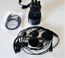 Motorcycle 2 Way Radio Set 1 Bike W/PROGRAM Complete Nothing Else to Buy