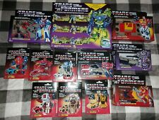 Transformers G1 MIB Walmart Reissue Lot of 12. Opened for Display Only!