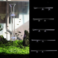 Shrimp Feeder Tube Fish Feeding with Suction Cups for Fish Tank 22-45cm Long