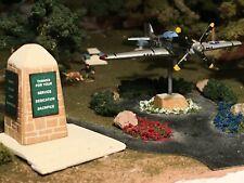 N-Scale Park kit, Veterans Memorial Park Kit