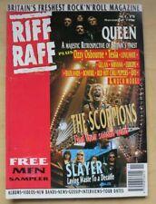 SCORPIONS RIFF RAFF MAGAZINE MAY 1991 SCORPIONS COVER WITH MORE INSIDE UK