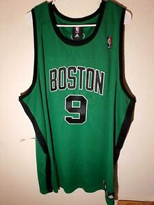 ADIDAS AUTHENTIC NBA BOSTON CELTICS RAJON RONDO JERSEY GREEN size 56
