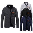 NEW Men's Jacket Slim Collar Coat Overcoat Winter Warm Casual Outwear Jacket