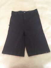 ...LOST Brand  BOYS SIZE 25 striped shorts Surf Skate NBG