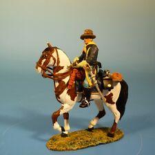Lineol / Elastolin - Wild West – 7US Kavallerist zu Pferd – 7cm Serie