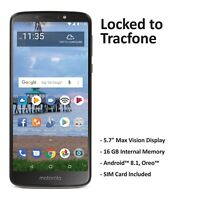 Tracfone Motorola E5 4G LTE Prepaid Cell Phone (Refurbished)
