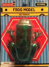 New See Through Frog Model Educational Science Biology Anatomy