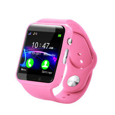 Kids Touchscreen BT Smart Watch Phone GSM Children Tracker with Camera Anti Lost