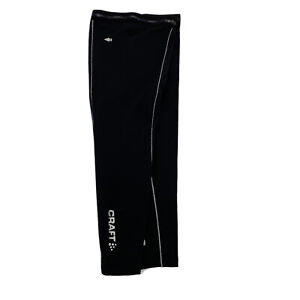 Craft Cycling Leg Warmers Black Thermo-cool Duo-regulation NEW Size XL 1X USA