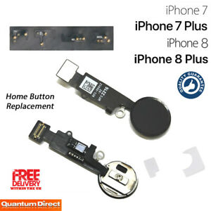 NEW iPhone 8 Universal Home Button Replacement with Home Return Function - BLACK