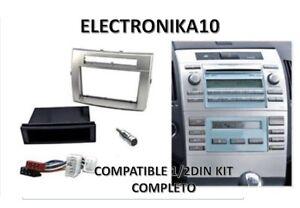 URGENTE Soporte marco radio Toyota Corolla Verso  kit conexiones iso y antena