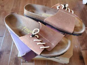 Birkenstock Papillio Masai Sandals EU 41 US 9.5 Tan leather